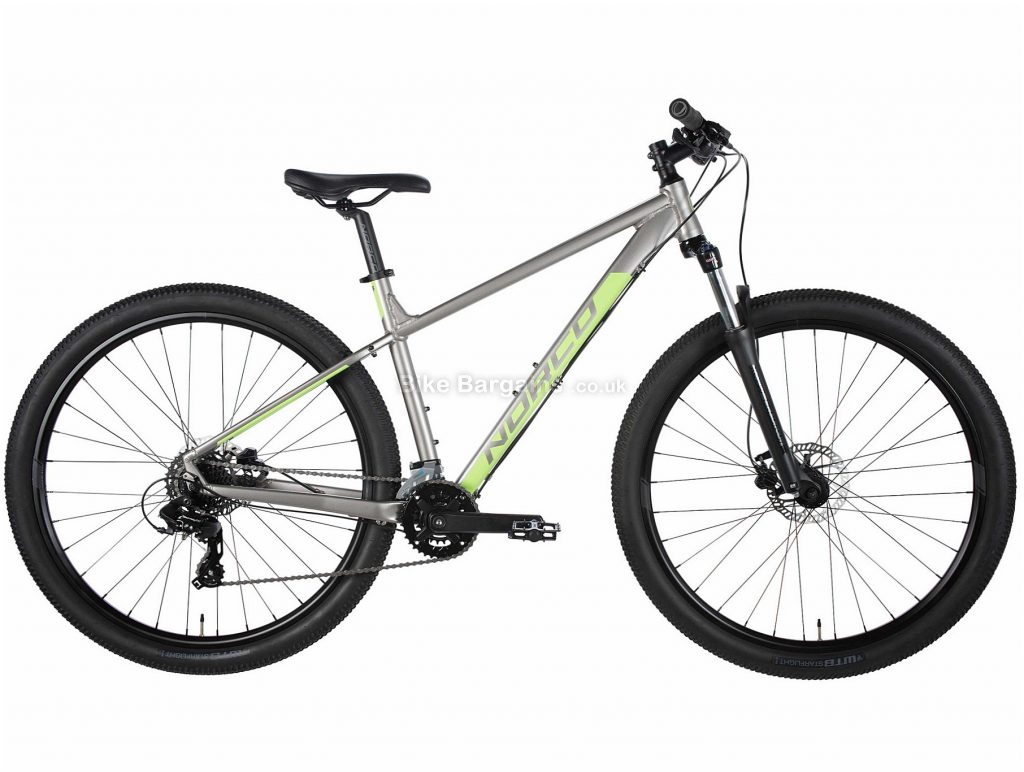 Norco Storm 3 Ladies Alloy Mountain Bike 2020 XXS, Silver, Black, Alloy Frame, Disc, 16 Speed, Double Chainring, Hardtail, 14.9kg