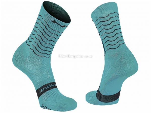 Northwave Ladies Switch Socks S,L, Black, 18cm Length, Polyester
