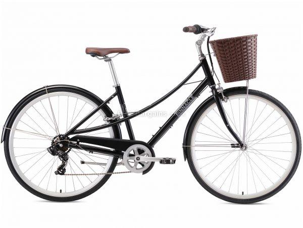 Pinnacle Californium 1 Ladies Alloy City Bike 2020 S,M,L, Turquoise, Black, Alloy Frame, Caliper Brakes, 7 Speed, Single Chainring, Hardtail, 14.7kg
