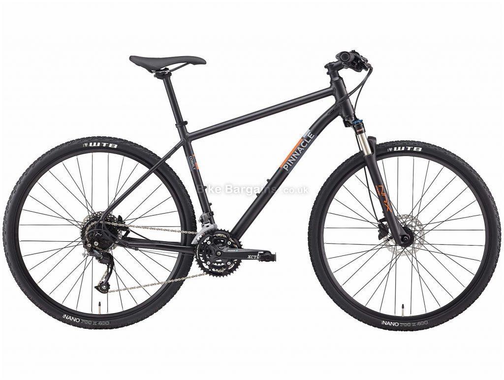 Pinnacle Cobalt 2 Alloy City Bike 2020 S,M,L,XL, Black, Alloy Frame, Disc, 27 Speed, Triple Chainring, Hardtail, 13.58kg