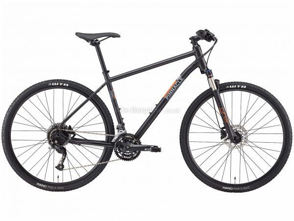 Pinnacle Cobalt 2 Alloy City Bike 2020 M,L,XL, Black, Alloy Frame, Disc, 27 Speed, Triple Chainring, Hardtail, 13.58kg