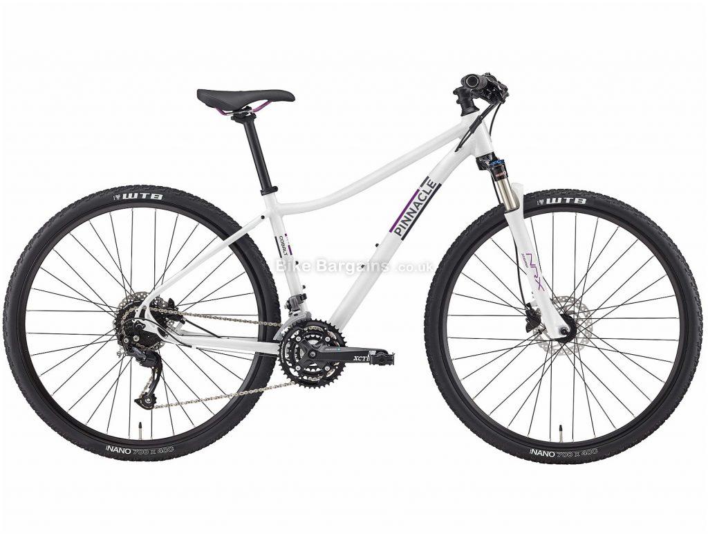 Pinnacle Cobalt 2 Ladies Alloy City Bike 2020 S,M,L, White, Alloy Frame, Disc, 27 Speed, Triple Chainring, Hardtail