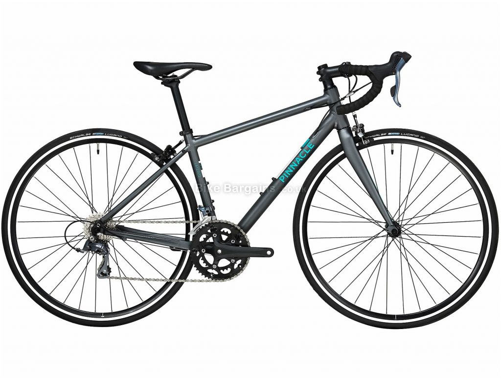 Pinnacle Laterite 1 Ladies Alloy Road Bike 2020 M,L, Grey, Alloy Frame, Caliper Brakes, 16 Speed, Double Chainring, , 9.9kg
