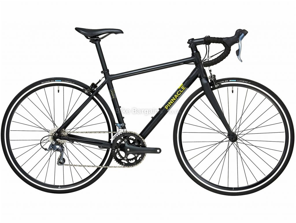 Pinnacle Laterite 1 Alloy Road Bike 2020 L, Black, Alloy Frame, Caliper Brakes, 24 Speed, Triple Chainring