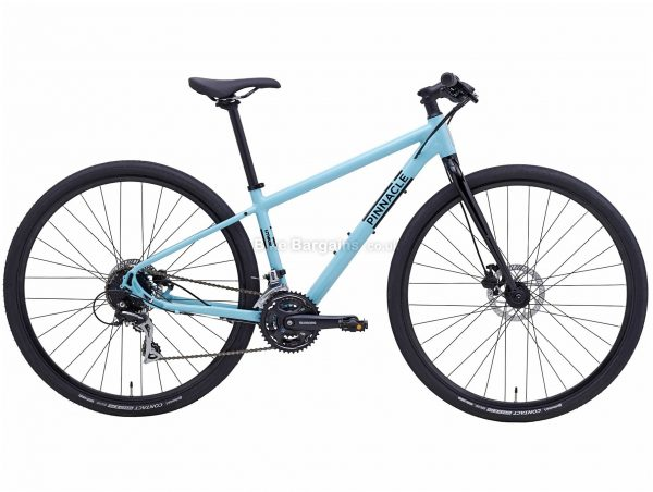 Pinnacle Lithium 3 Ladies Alloy City Bike 2020 M,L, Black, White, Alloy Frame, Disc, 24 Speed, Triple Chainring, Hardtail, 12.5kg