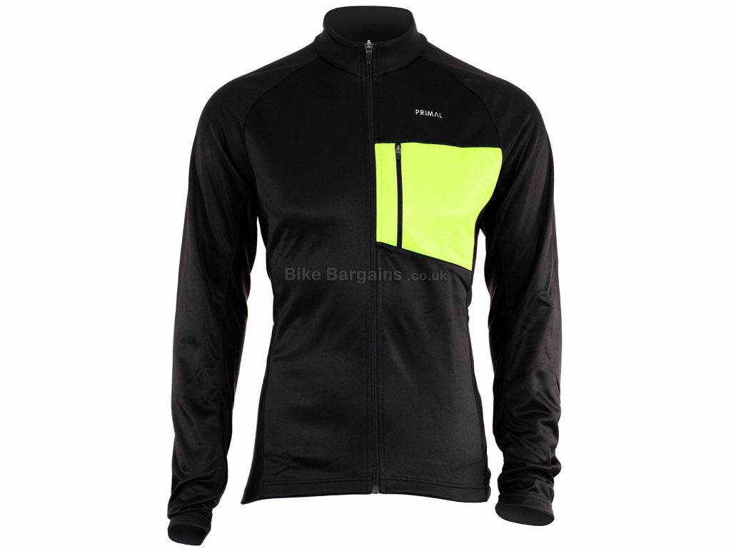 Primal Aerion Jacket S, Black, Long Sleeve, Men's, Polyester