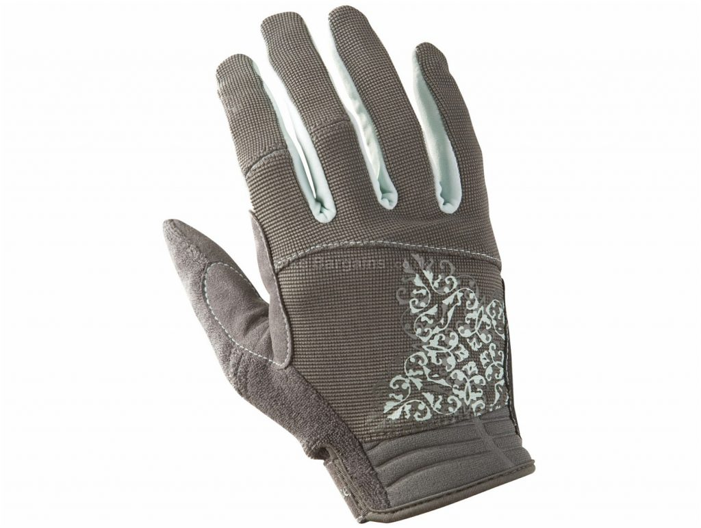 Race Face Ladies DIY Gloves XL, Black, Full Finger, Ladies, Polyamide, Polyurethane, Elastane, Polyester, Neoprene