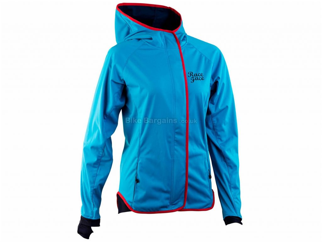 Race Face Ladies Scout Jacket 2017 XS, Black, Long Sleeve, Ladies, Polyester
