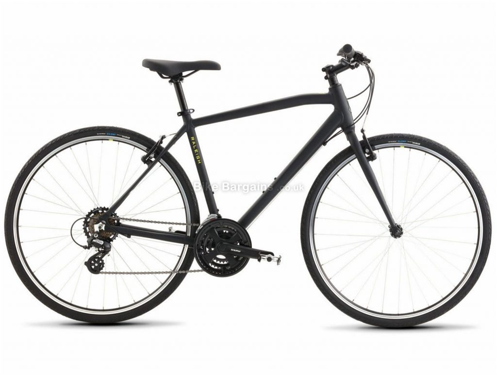 Raleigh Cadent 1 Alloy City Bike 2021 S,M,L,XL, Red, Black, Alloy Frame, Caliper Brakes, 21 Speed, Triple Chainring, Hardtail