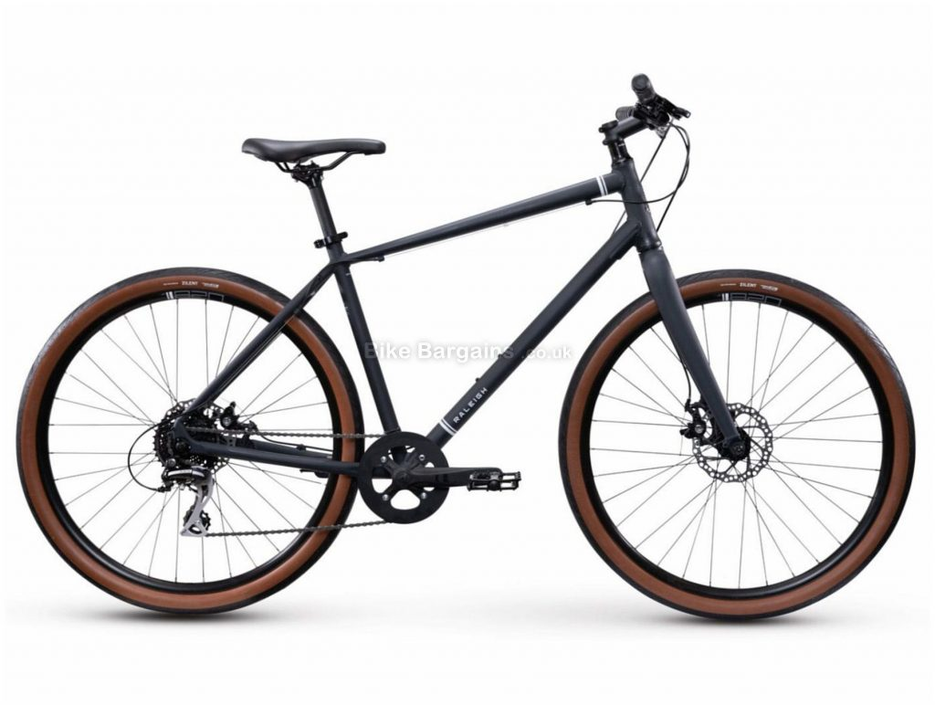 Raleigh Redux 1 Alloy City Bike 2021 M,L,XL, Black, Alloy Frame, Disc, 8 Speed, Single Chainring, Hardtail