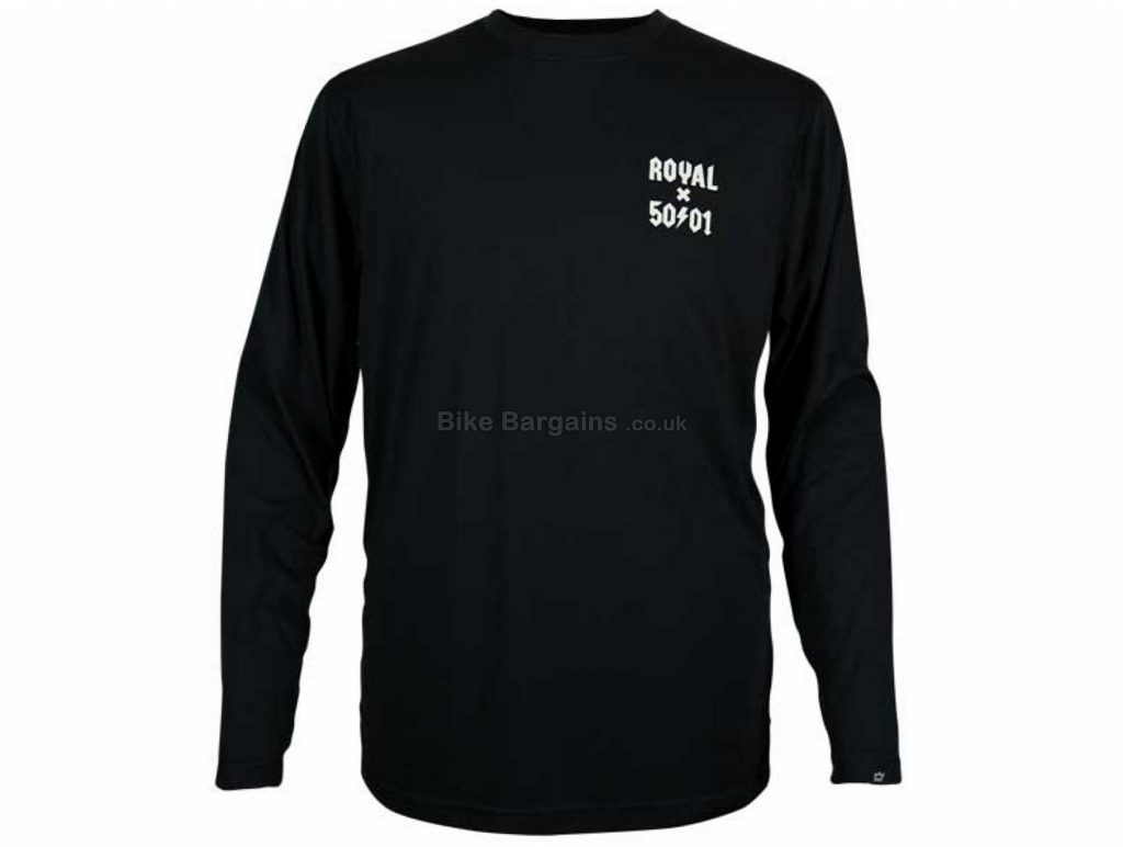 Royal Core Long Sleeve Jersey S, Green, Quick Drying, Men's, Long Sleeve, Polyester