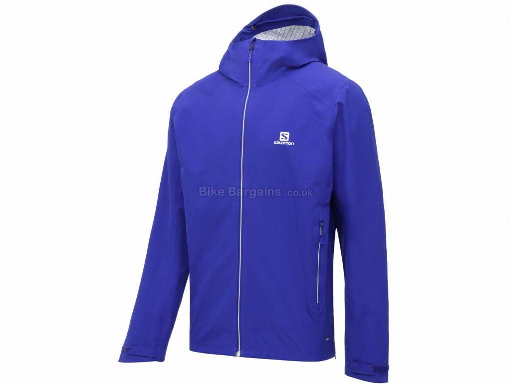 Salomon La Cote Stretch 2.5L Jacket M, Purple, Waterproof, Men's, Long Sleeve, 325g, Polyester