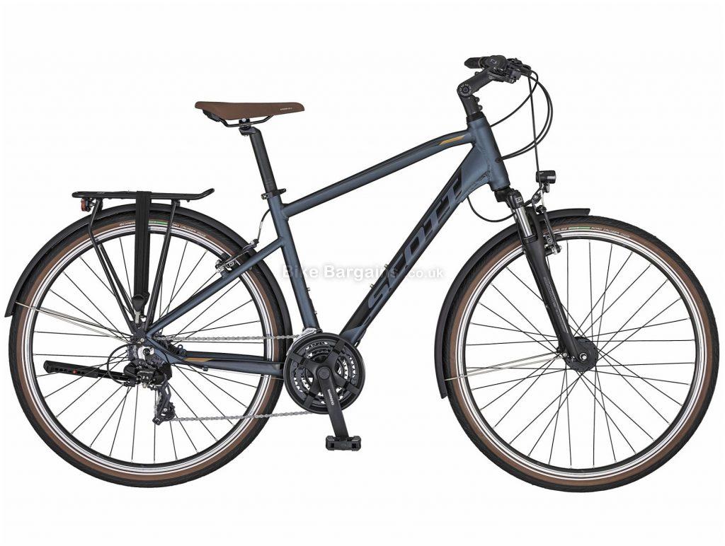 Scott Sub Sport 40 Blue Alloy City Bike 2020 M, Blue, Alloy Frame, 21 Speed, Caliper Brakes, 700c Wheels, Hardtail