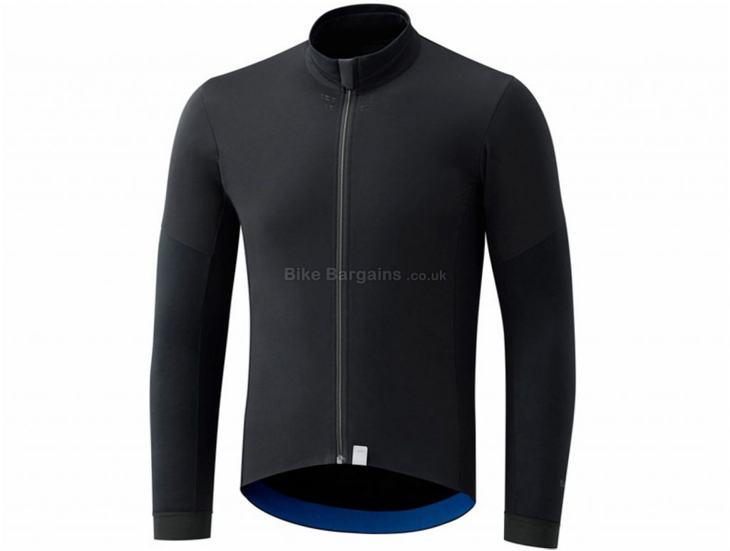 Shimano Evolve Wind Long Sleeve Jersey S, Black, Long Sleeve, Men's, Polyester, Elastane, Polyamide