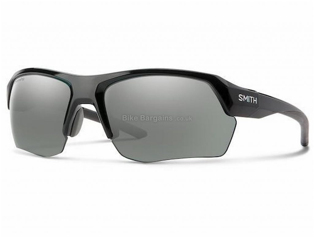 Smith Optics Tempo Max Glasses One Size, Black, Interchangeable Lenses, Men's, Long Sleeve, Plastic