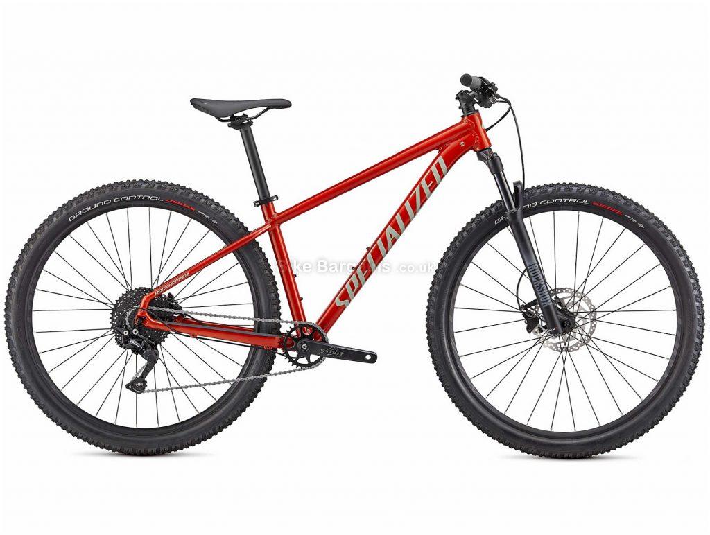 "Specialized Rockhopper Elite Alloy Hardtail Mountain Bike 2021 XS,M,L,XL, Red, Black, Alloy Frame, 10 Speed, Disc Brakes, 27.5"" or 29"" Wheels, Hardtail"