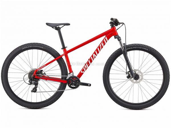"Specialized Rockhopper Alloy Hardtail Mountain Bike 2021 XS,S,M, Blue, Black, Red, Alloy Frame, 16 Speed, Disc Brakes, 27.5"" Wheels, Hardtail"