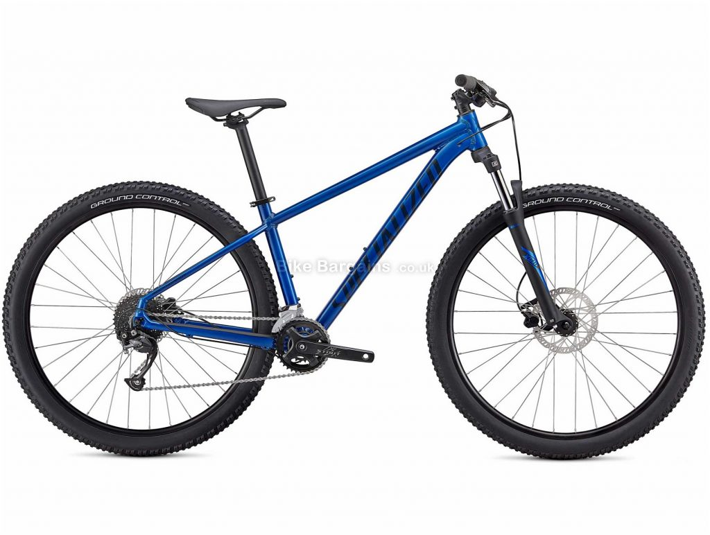 "Specialized Rockhopper Sport Alloy Hardtail Mountain Bike 2021 XS,S,M,L,XL,XXL, Yellow, Blue, Black, Brown, Alloy Frame, 18 Speed, Disc Brakes, 27.5"" or 29"" Wheels, Hardtail"