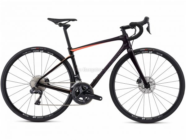 Specialized Ruby Comp Carbon Di2 Ladies Road Bike 2019 51cm, Black, Carbon, 700c, Double Chainring, 11 Speed, Disc