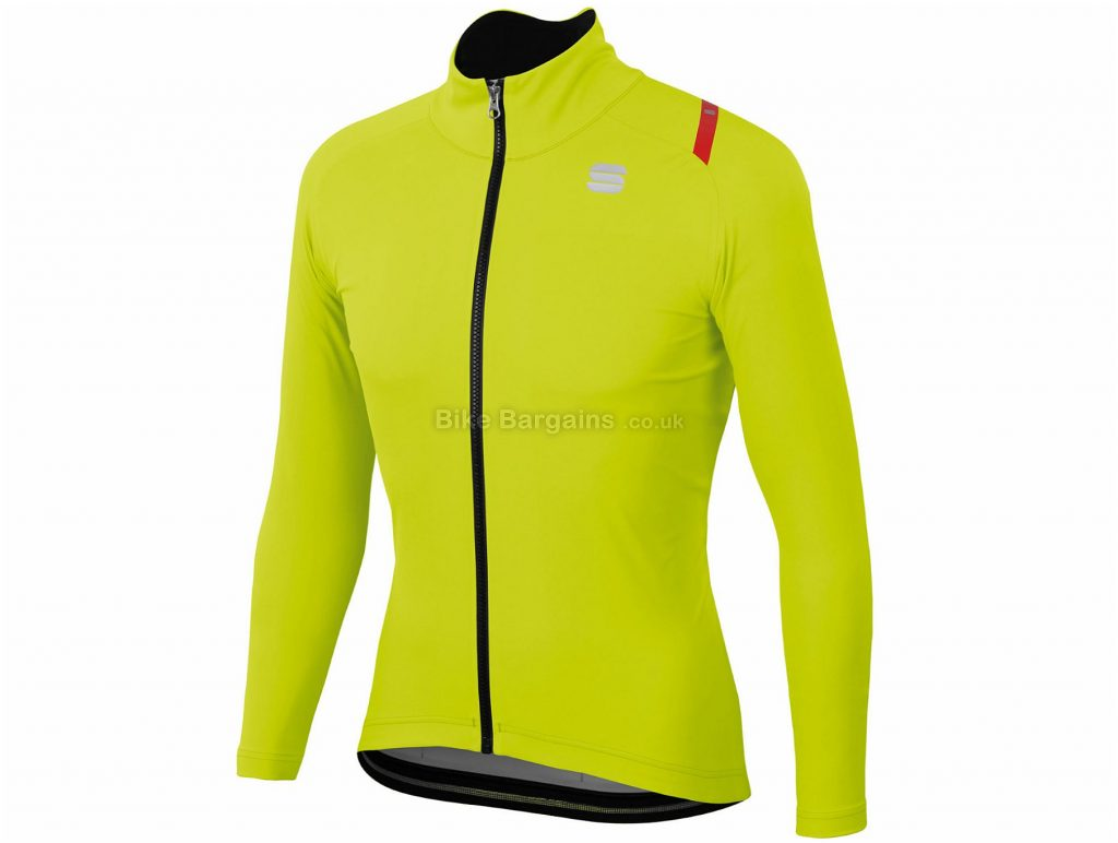Sportful Fiandre Ultimate 2 Windstopper Jacket S,L, Orange, Long Sleeve, Men's, Polyester, Elastane