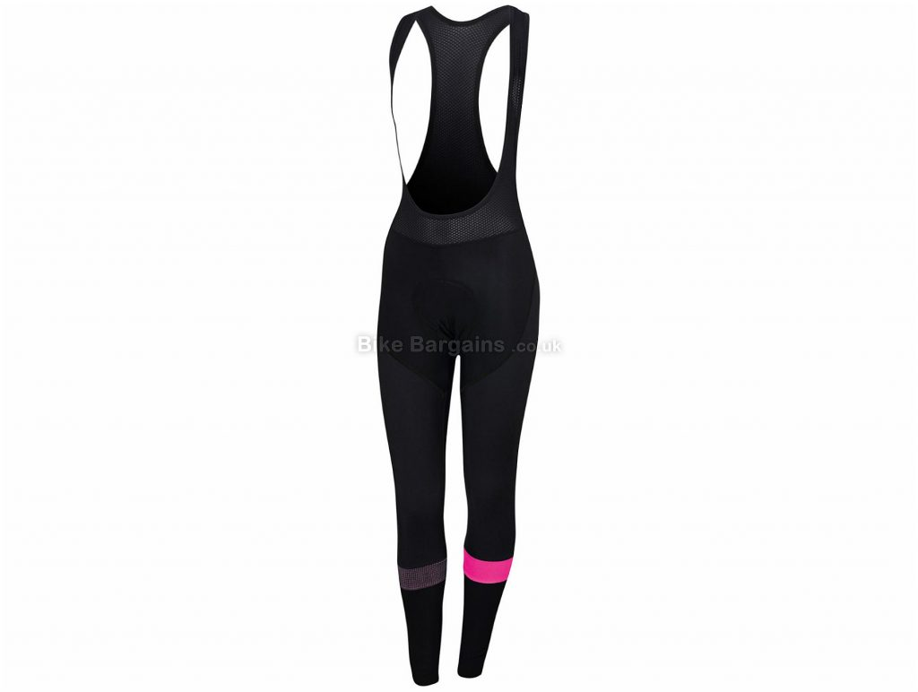 Sportful Ladies Bodyfit Pro Bib Tights M, Black, Blue, Ladies, Elastane, Polyamide, Polyester, Thermal