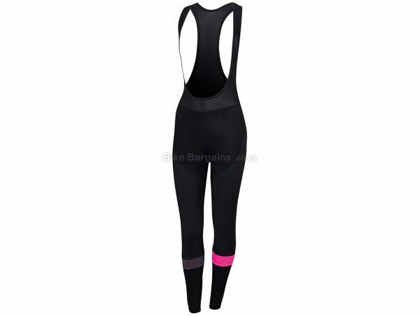 Sportful Ladies Bodyfit Pro Bib Tights L,XL, Black, Blue, Ladies, Elastane, Polyamide, Polyester, Thermal