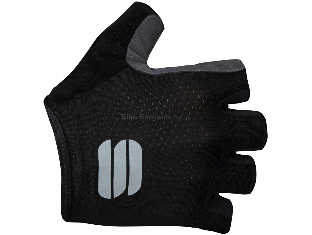 Sportful TC Mitts XS, Yellow, Fingerless, Mitts, Polyamide, Polyester,  Polyurethane, Elastane
