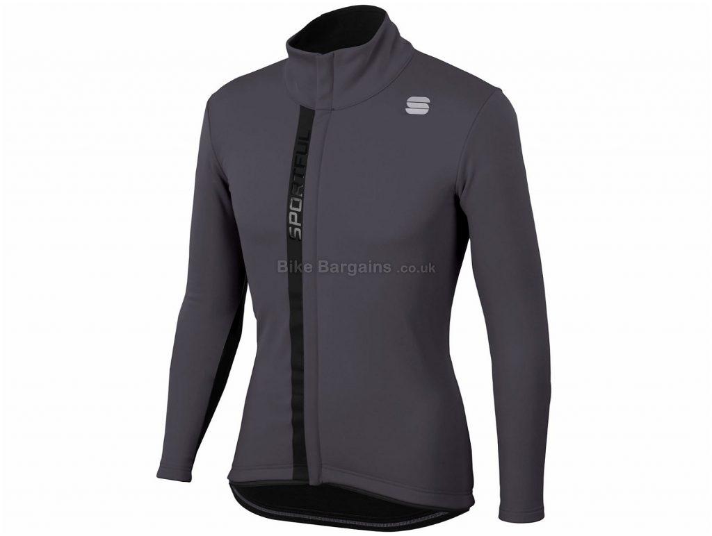 Sportful Tempo Windstopper Jacket L, Blue, Black, Long Sleeve, Men's, Polyester, Elastane