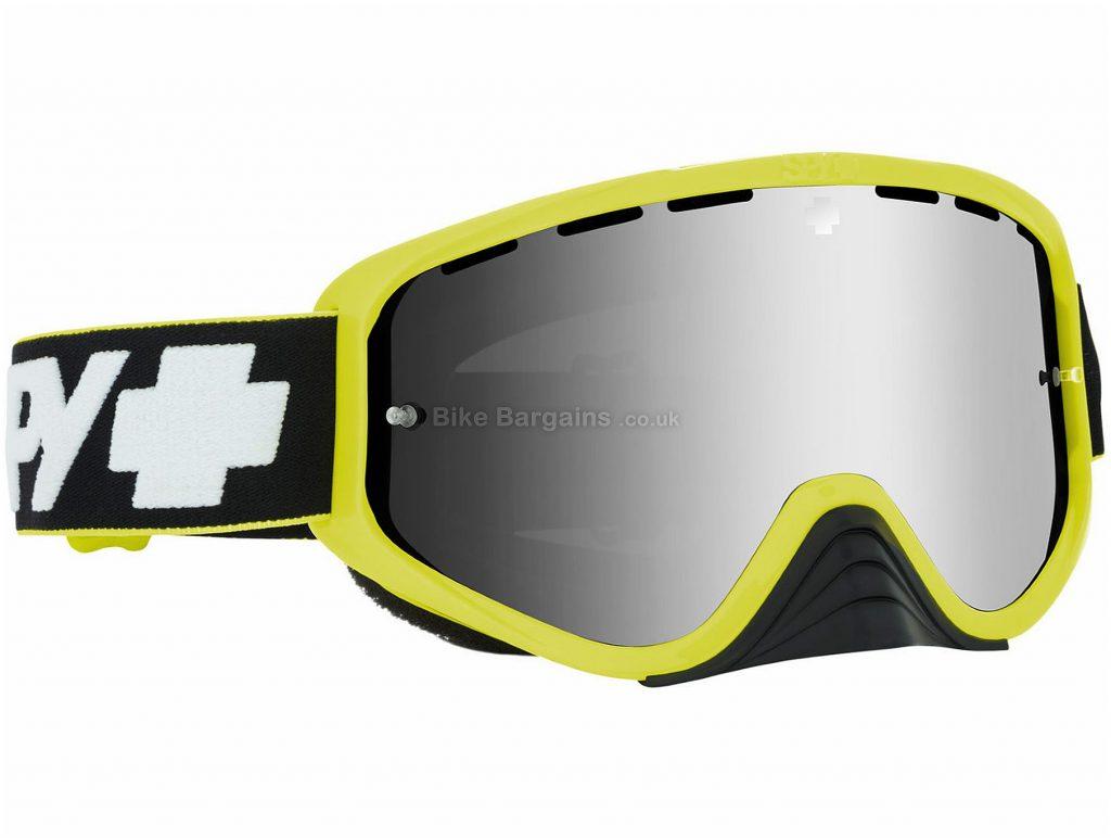 Spy Optic Woot Race Goggles One Size, Green, Grey, Polyurethane