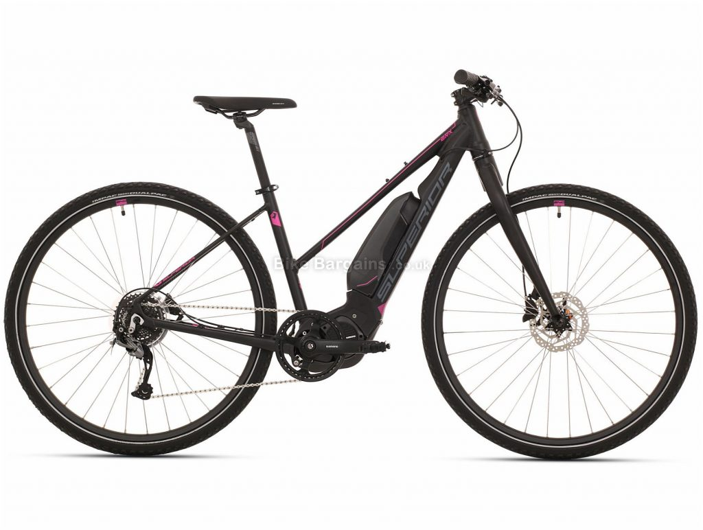 Superior eRX 630 Lady Urban Alloy Electric Bike 2020 S,L, Black, Alloy Frame, 700c, 8 Speed, Single Chainring, Disc Brake