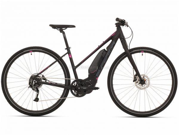 Superior eRX 630 Lady Urban Alloy Electric Bike 2020 L, Black, Alloy Frame, 700c, 8 Speed, Single Chainring, Disc Brake