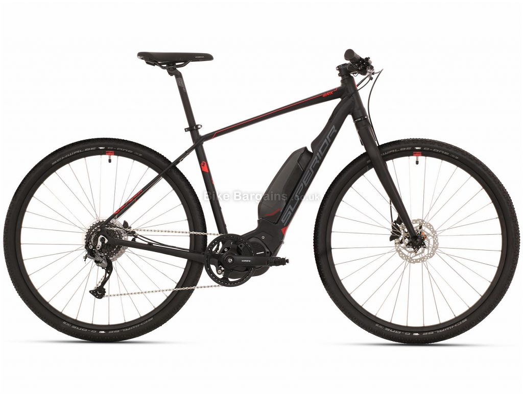 Superior eRX 630 Urban Alloy Electric Bike 2020 L,XL, Black, Grey, Alloy Frame, 700c, 8 Speed, Single Chainring, Disc