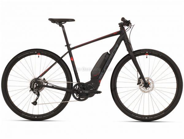 Superior eRX 630 Urban Alloy Electric Bike 2020 L, Black, Grey, Alloy Frame, 700c, 8 Speed, Single Chainring, Disc