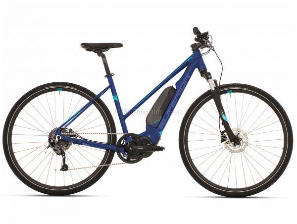 Superior eRX 650 Lady Urban Alloy Electric Bike 2020 L, Blue, Alloy Frame, 700c, 8 Speed, Single Chainring, Disc Brake