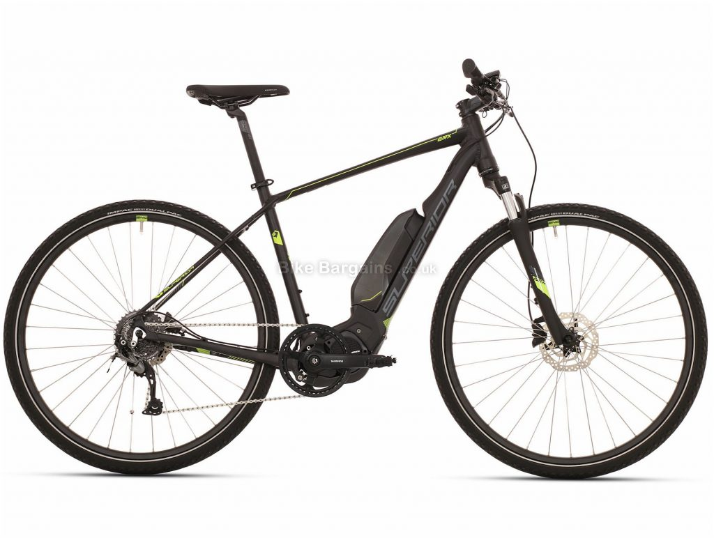 Superior eRX 650 Urban Alloy Electric Bike 2020 L,XL, Black, Grey, Alloy Frame, 700c, 8 Speed, Single Chainring, Disc Brake