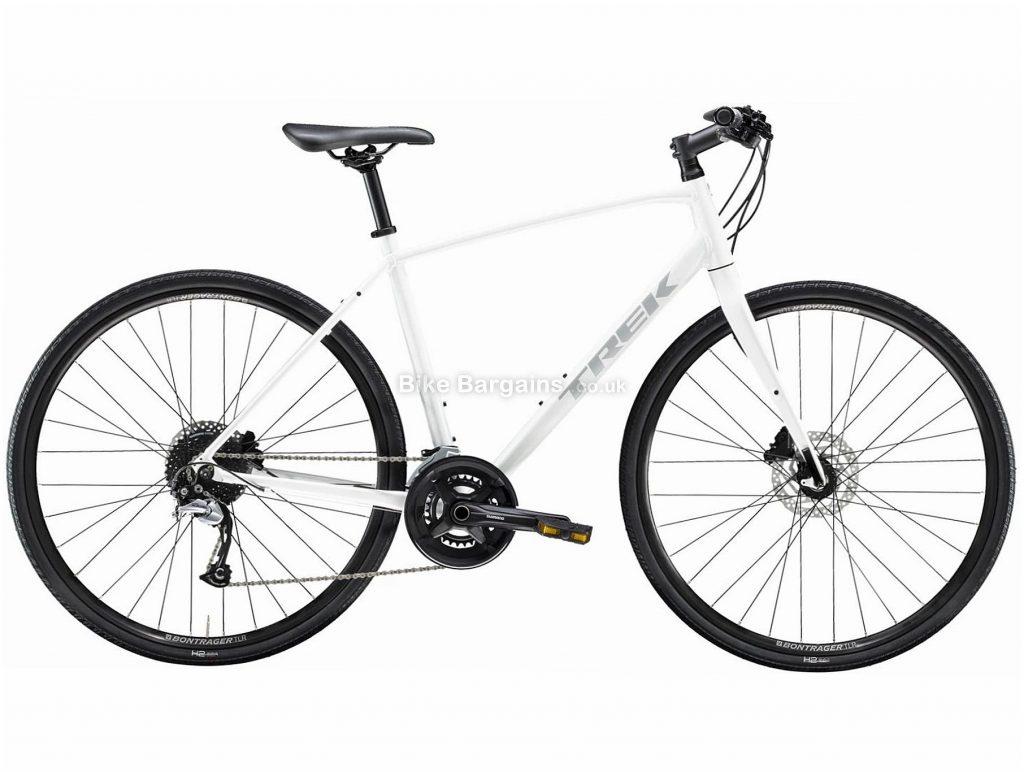 Trek FX 3 Disc Alloy City Bike 2021 S,M,L,XL,XXL, Red, White, Alloy Frame, 18 Speed, Disc Brakes, 700c Wheels, Hardtail
