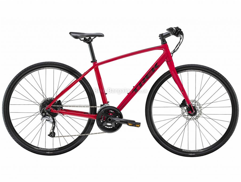 Trek FX 3 Disc Ladies Alloy City Bike 2020 S,M,L, Red, Alloy Frame, 18 Speed, Disc Brakes, 700c Wheels, Hardtail, 11.59kg