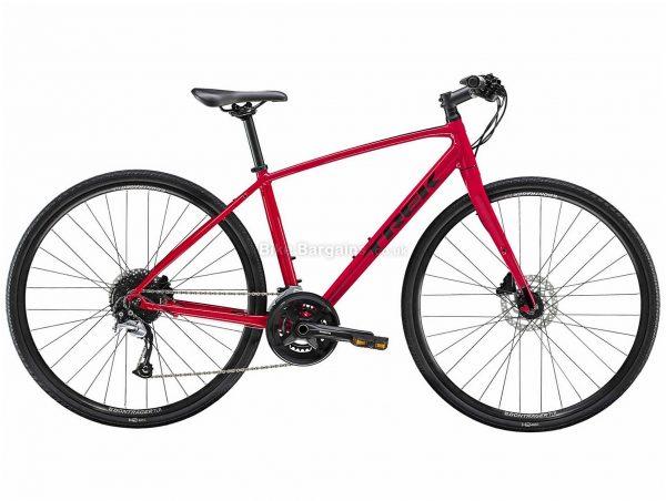 Trek FX 3 Disc Ladies Alloy City Bike 2020 M,L, Red, Alloy Frame, 18 Speed, Disc Brakes, 700c Wheels, Hardtail, 11.59kg