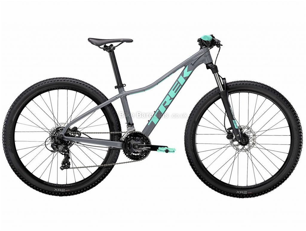 "Trek Marlin 5 Ladies Alloy Hardtail Mountain Bike 2021 XS,S,M,L, Purple, Grey, Alloy Frame, 21 Speed, Disc Brakes, 27.5"" or 29"" Wheels, Hardtail, 13.8kg"