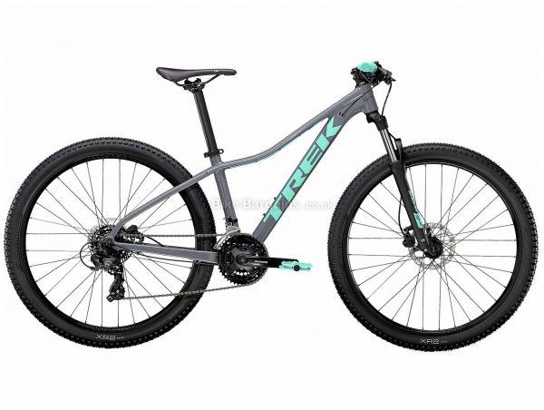 "Trek Marlin 5 Ladies Alloy Hardtail Mountain Bike 2021 XS,S,M,L, Purple, Grey, Alloy Frame, 21 Speed, Disc Brakes, 27.5"" or 29"" Wheels, Hardtail, 13.8kg"