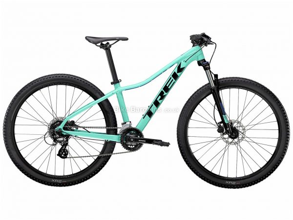 "Trek Marlin 6 Ladies Alloy Hardtail Mountain Bike 2021 M,L, Turquoise, Alloy Frame, 16 Speed, Disc Brakes, 29"" Wheels, Hardtail, 13.63kg"