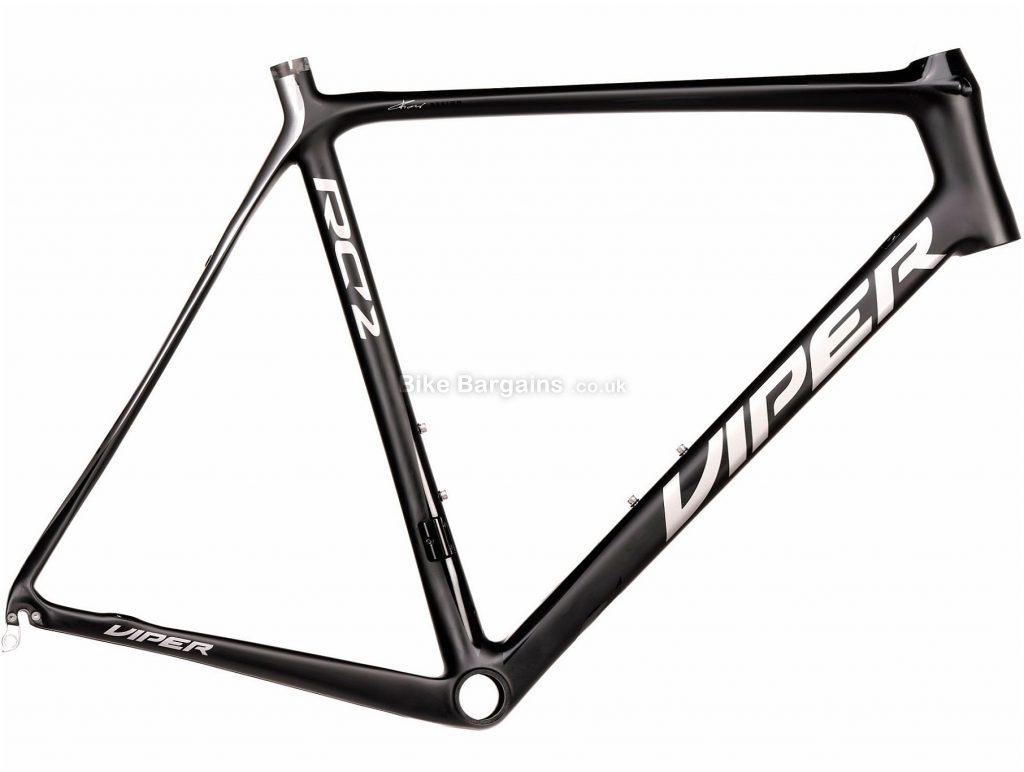 Viper RC2 Carbon Road Frame 50cm,53cm,56cm,59cm, Black, Red, Grey, Carbon Frame, 700c, Caliper Brakes
