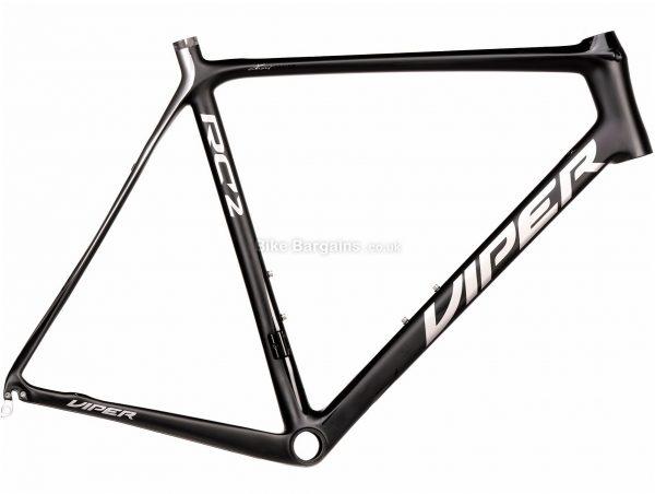 Viper RC2 Carbon Road Frame 59cm, Black, Red, Grey, Carbon Frame, 700c, Caliper Brakes
