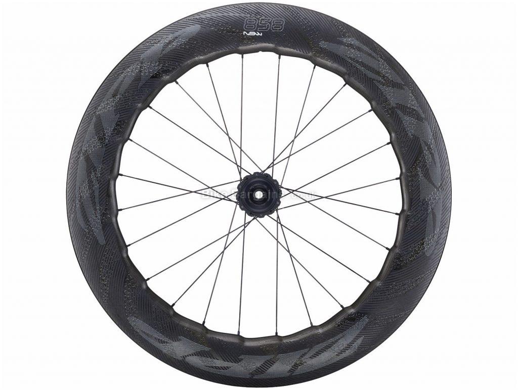 Zipp 858 NSW Carbon Clincher Disc DB Rear Wheel Black, SRAM, 700c, 125psi Max, Disc Brake, Rear, 984g, Carbon