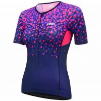 dhb Blok Ladies Blossom Tri Short Sleeve Jersey