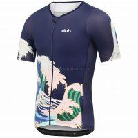dhb Blok Wave Tri Short Sleeve Jersey
