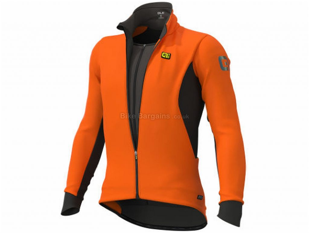 Ale Corse Combi Jacket S, Orange, Black, Wind & Water-Resistant, Long Sleeve, Men's, Polyester, Elastane, Polyamide