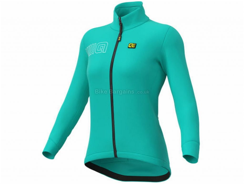 Ale Ladies Color Block Jacket XL, Turquoise, Windproof And Breathable, Long Sleeve, Ladies, 380g, Polyester, Elastane