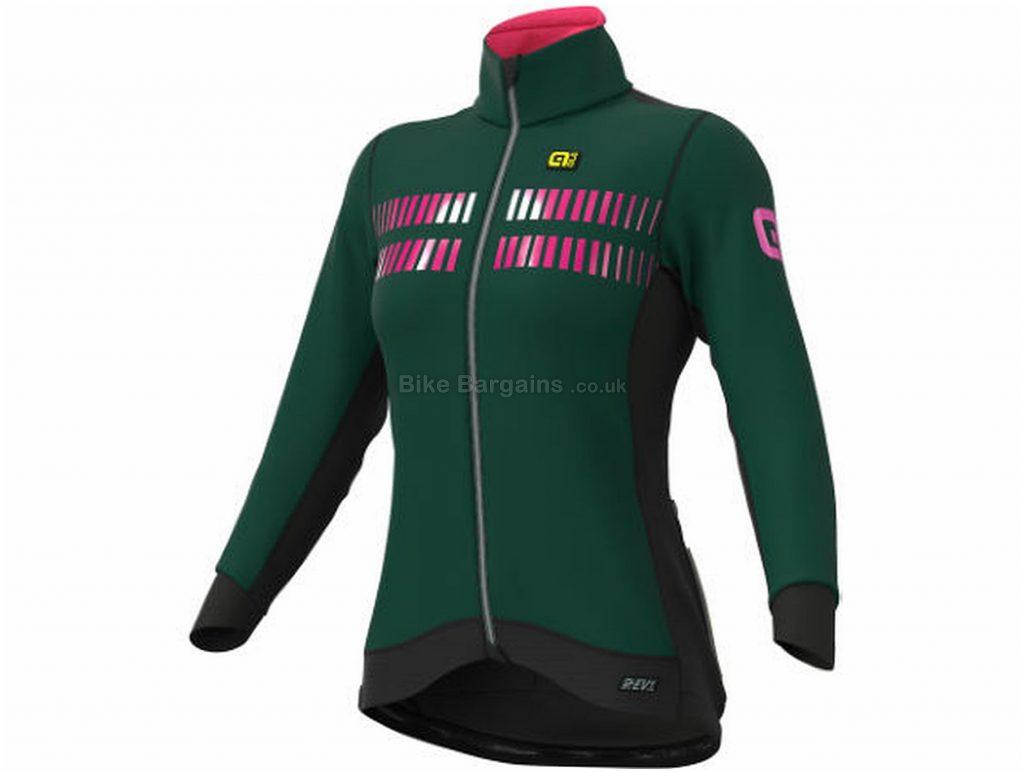 Ale Ladies Future Nordik Jacket XL, Red, Orange, Windproof & Warm, Long Sleeve, Ladies, Polyester, Elastane, Polyamide