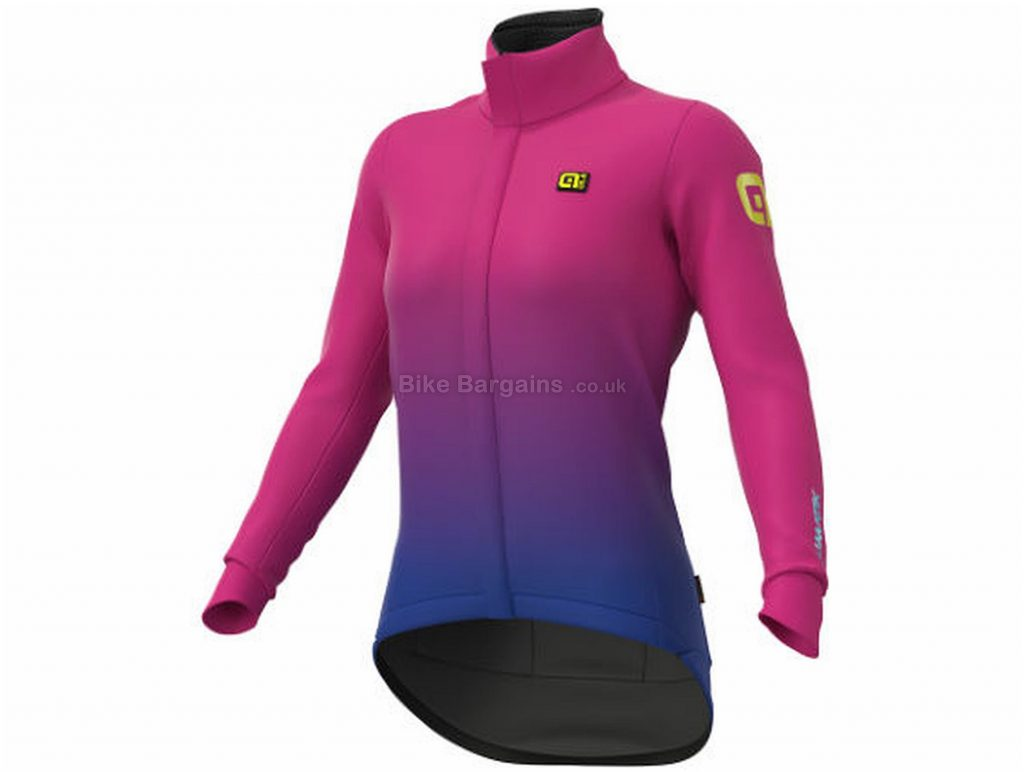 Ale Ladies K-Tornado Jacket S, Pink, Purple, Durable Water Repellent Coating, Long Sleeve, Ladies, Polyester, Elastane